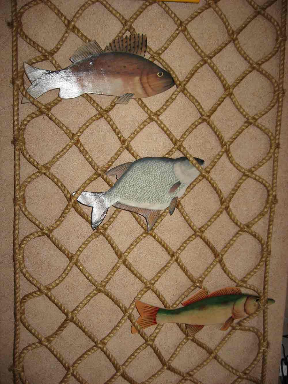 set dek ribsten Сети декоративные