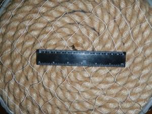 ячея 35мм 300x225 Сети для ограждения