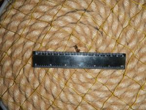 ячея 40мм 08 зел 300x225 Сети для ограждения