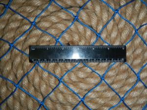 ячея 50мм синяя 300x225 Сети для ограждения