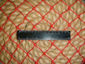 40мм красн 2 300x225 Сети для ограждения