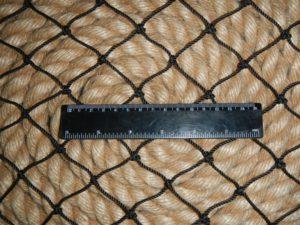 40мм черн 2 300x225 Сети для ограждения