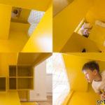 goriz 150x150 Страховочные и декоративные сети в интерьере загородного дома