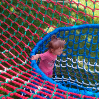 3d1 340x340 Детский игровой комплекс – сетка вязанка с переходами 3d