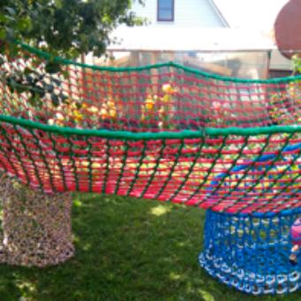 3d2 340x340 Детский игровой комплекс – сетка вязанка с переходами 3d