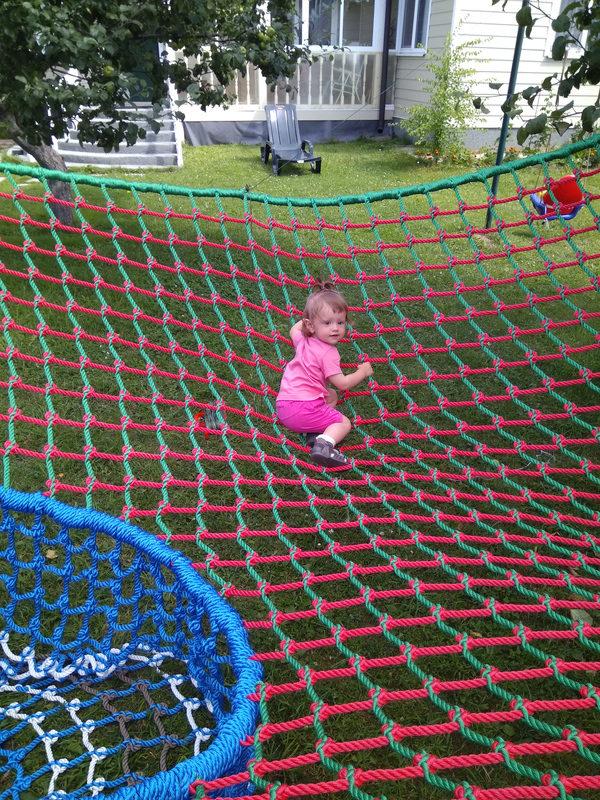 IMG 20170806 133928 e1503066608773 Детский игровой комплекс – сетка вязанка с переходами 3d