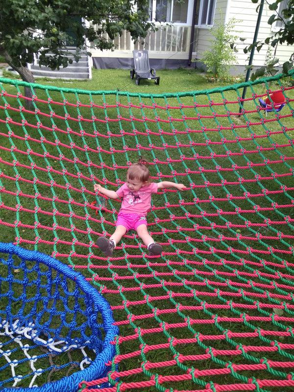 IMG 20170806 133943 e1503066447173 Детский игровой комплекс – сетка вязанка с переходами 3d