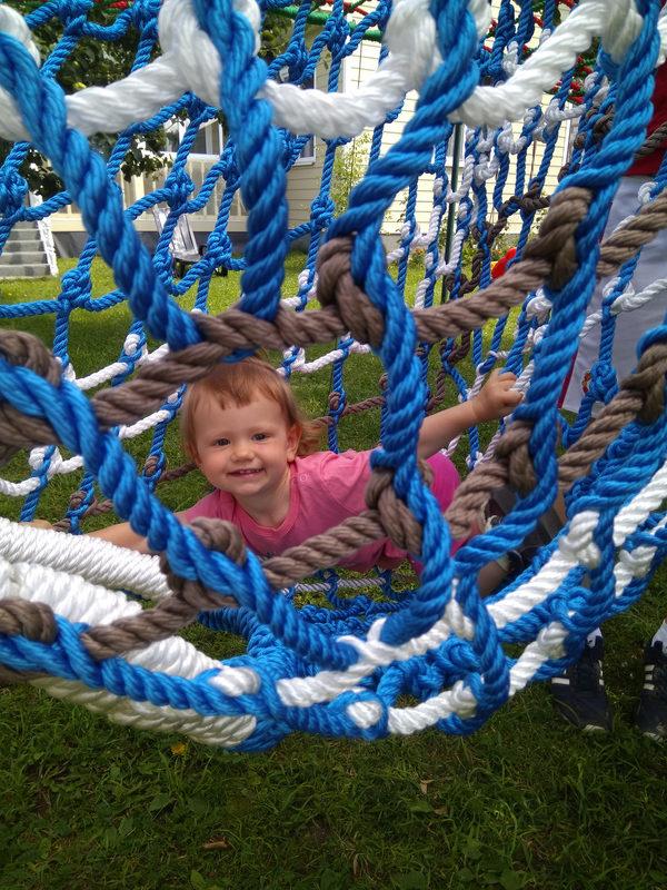 IMG 20170806 134039 e1503066593201 Детский игровой комплекс – сетка вязанка с переходами 3d