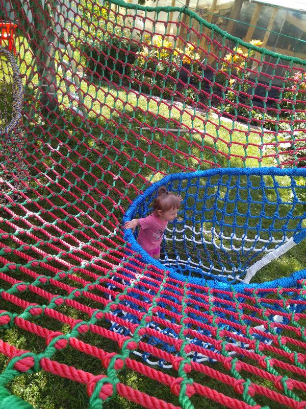 IMG 20170806 134310 e1503066546802 Детский игровой комплекс – сетка вязанка с переходами 3d