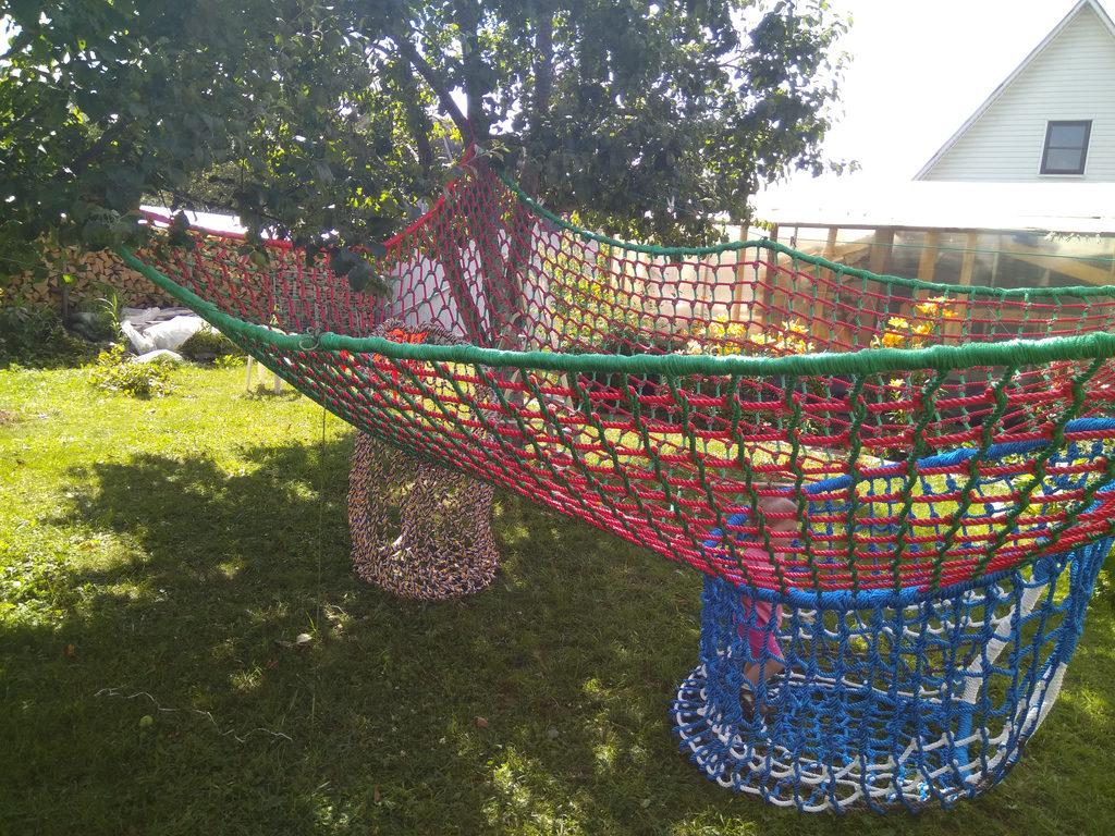 IMG 20170806 134345 e1503066491277 Детский игровой комплекс – сетка вязанка с переходами 3d