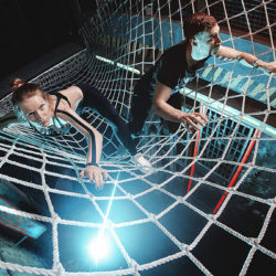 сеть из каната па диам 16мм яч 200мм 250x250 Сети для лазанья