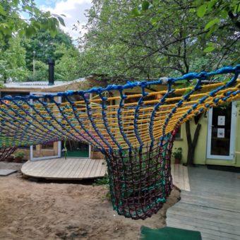 IMG 20210601 135452 340x340 Детский игровой комплекс – сетка вязанка с переходами 3d