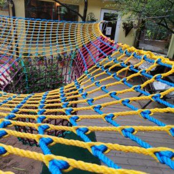 IMG 20210601 135508 340x340 Детский игровой комплекс – сетка вязанка с переходами 3d